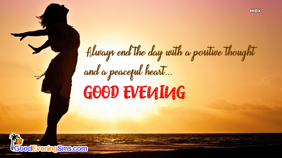 Good Evening SMS for Motivation