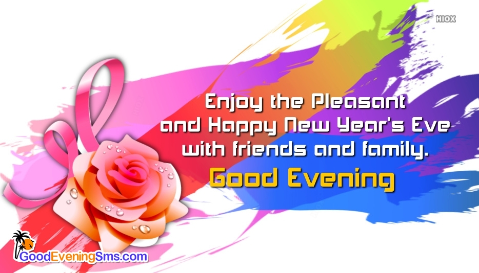 Enjoy The Pleasant and Happy New Year