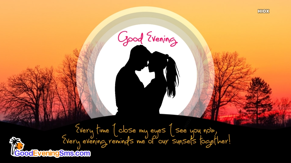 Good Evening SMS for Soulmate
