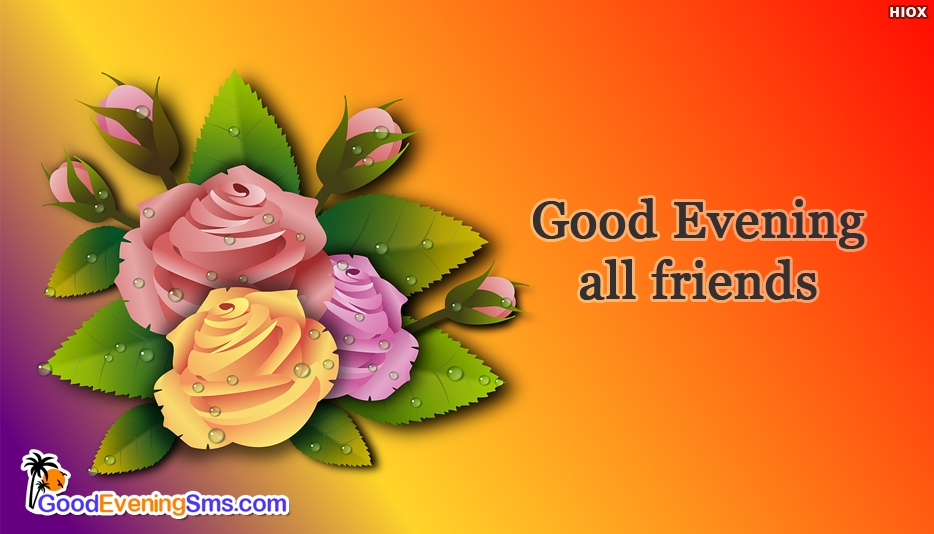 Good Evening SMS for Fb Friend