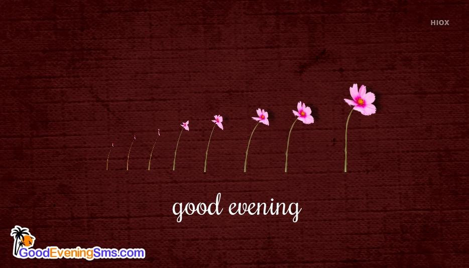 good evening simple