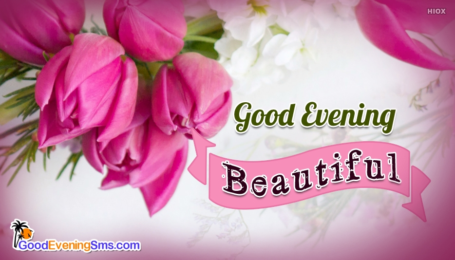 Beautiful Good Evening Ecards
