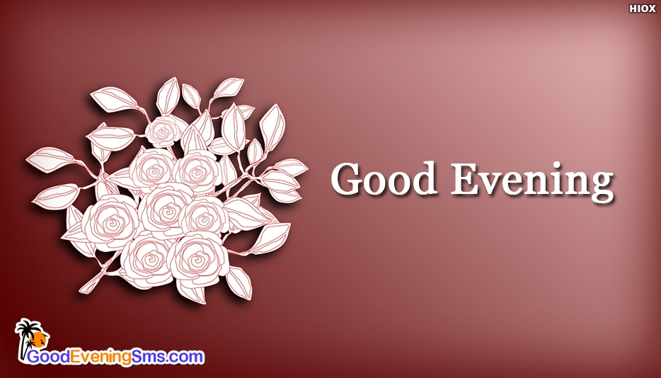 Hd Good Evening SMS for Download