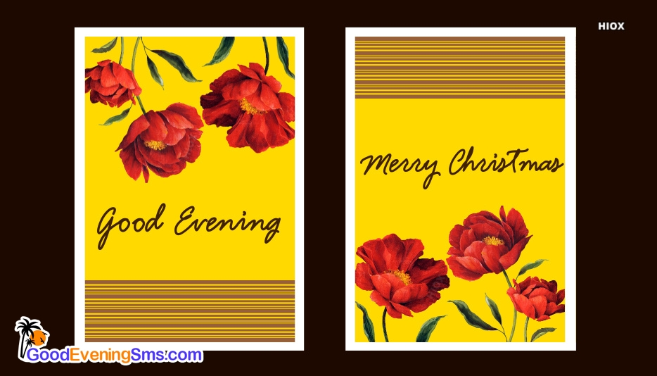 Good Evening Christmas Images
