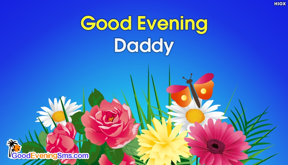 Good Evening SMS Messages For Father