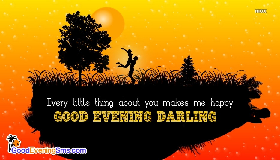 Good Evening Darling Greetings