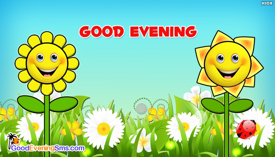 Good Evening Emoji @ Goodeveningsms.com