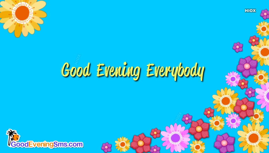 Good Evening SMS for Everyone