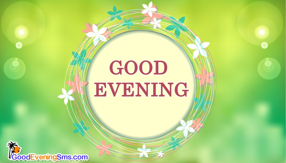 Good Evening Flowers @ Goodeveningsms.com