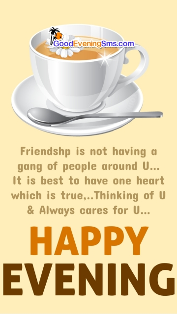 Good Evening Quotes for Friendship