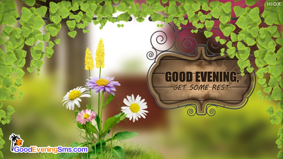 Good Evening SMS for Rest