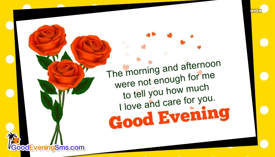 Good Evening Greeting To Husband
