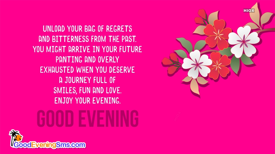 Good Evening SMS for Wishes Quotes