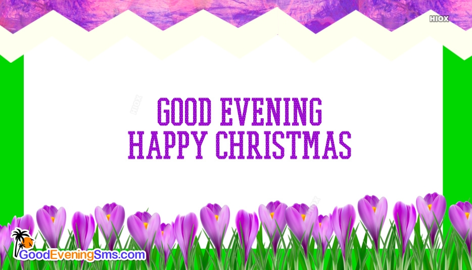 Good Evening Happy Christmas Images, Pictures