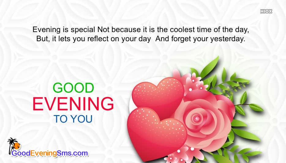 Good Evening HD Image With Wishes Quotes