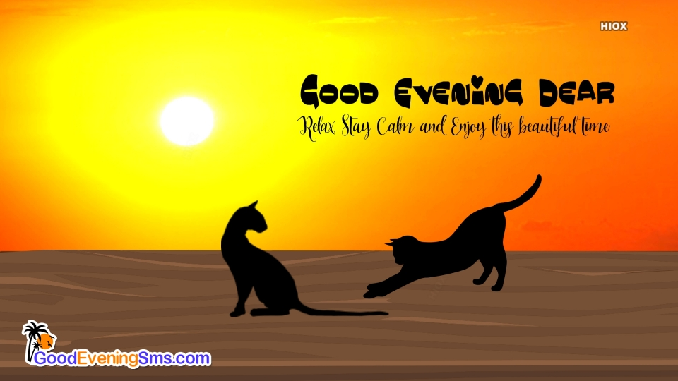 Good Evening SMS for Image