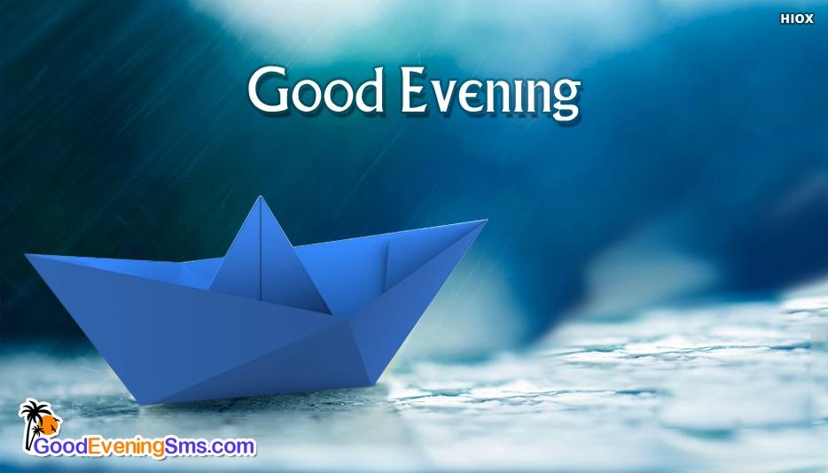 Good Evening In Rain