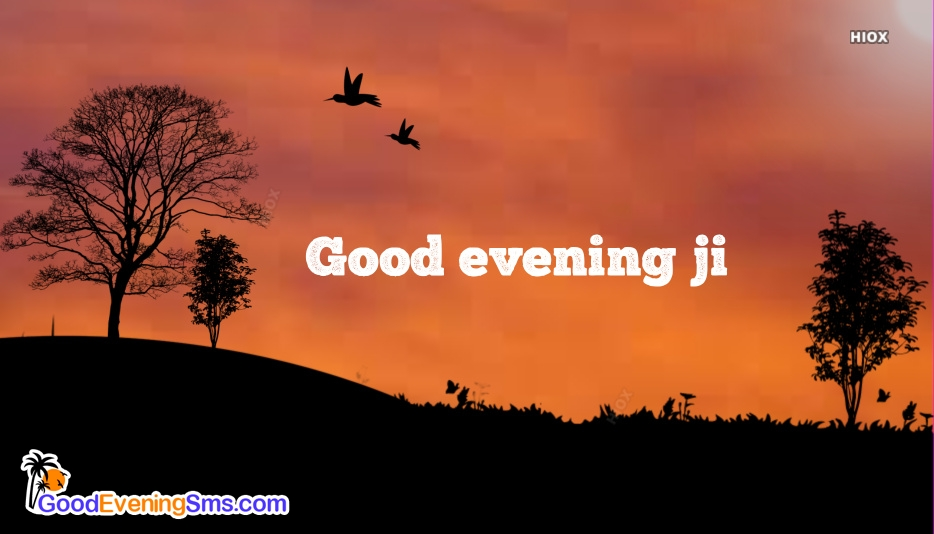Good Evening SMS for Ji