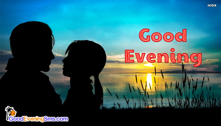 Good Evening Kiss - Good Evening SMS for Romantic