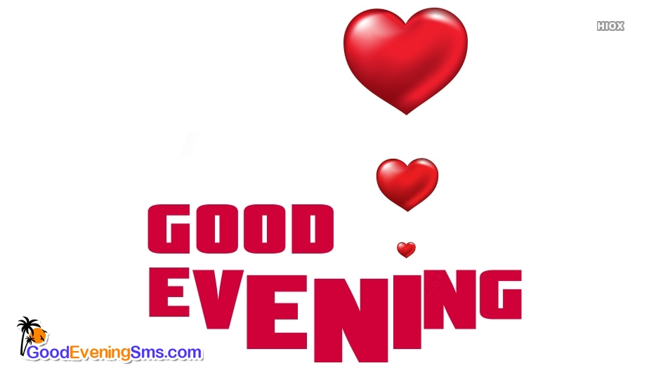 Good Evening SMS for Heart