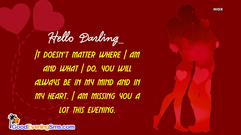 Good Evening Love Quotes For Her