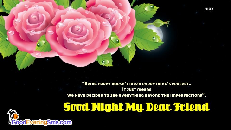 Good Evening Message For A Dear Friend