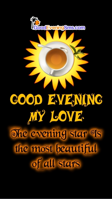 Good Evening My Love Message