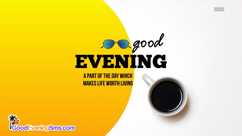 Good Evening Message for Iphone
