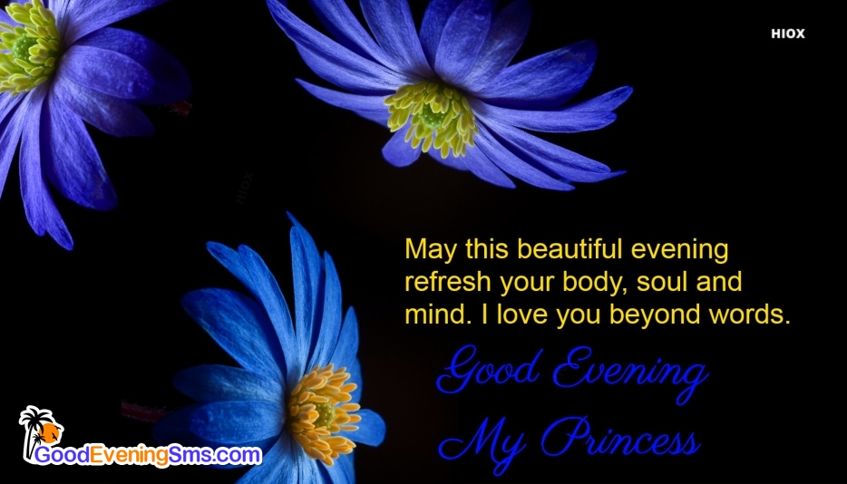 Good Evening SMS for From Husband