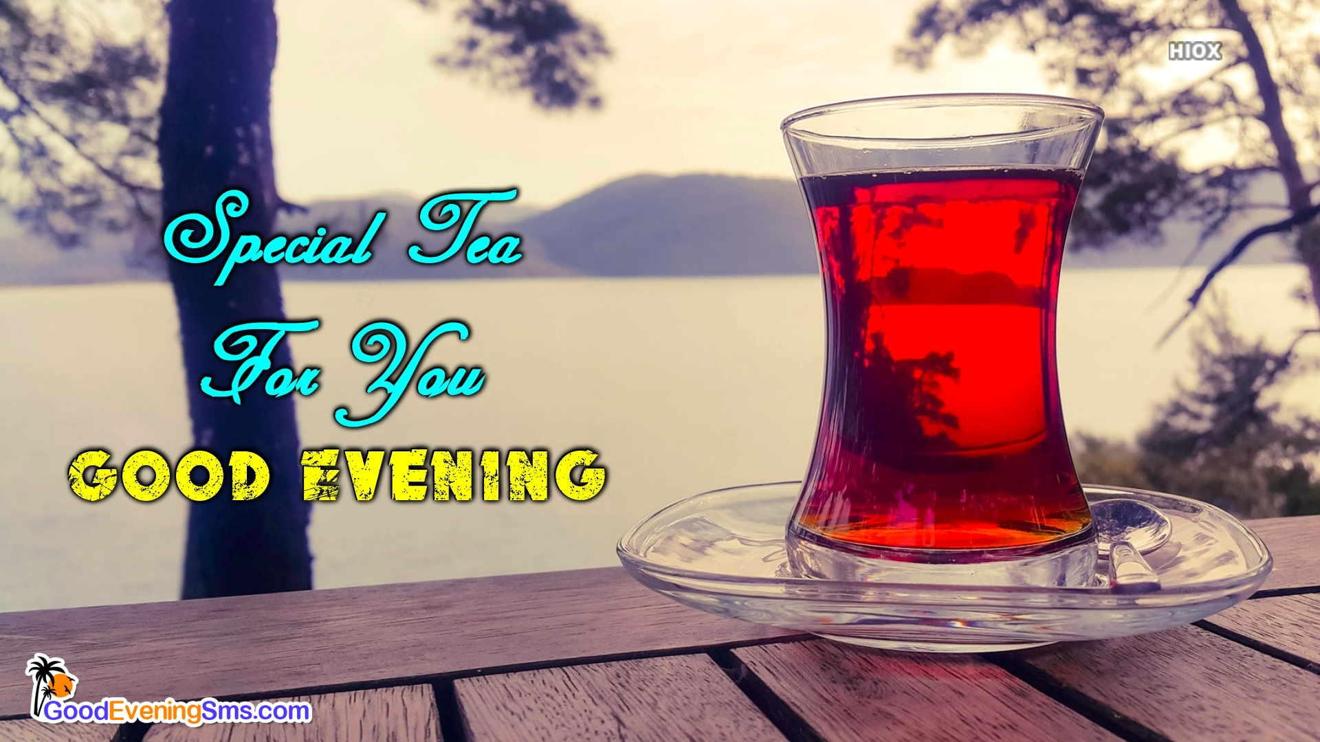 Good Evening Message With Tea