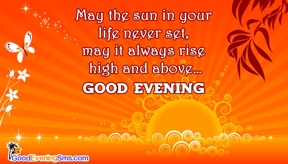 Good Evening My Dear @ Goodeveningsms.com