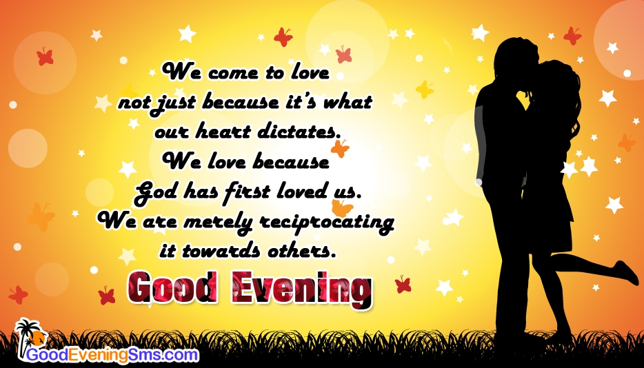 Good Evening My Dear Love @ Goodeveningsms.com