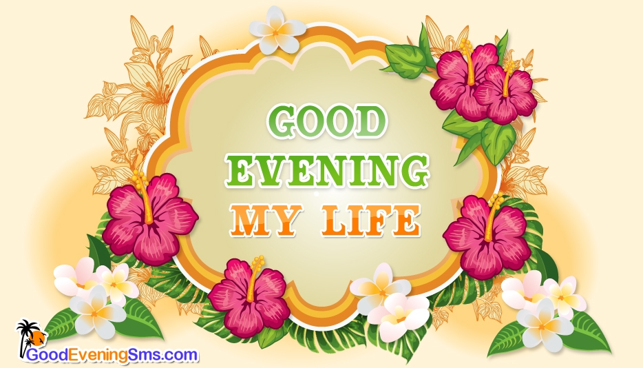 Good Evening SMS for Life Partner
