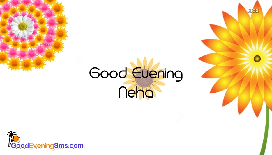 Good Evening SMS for Names