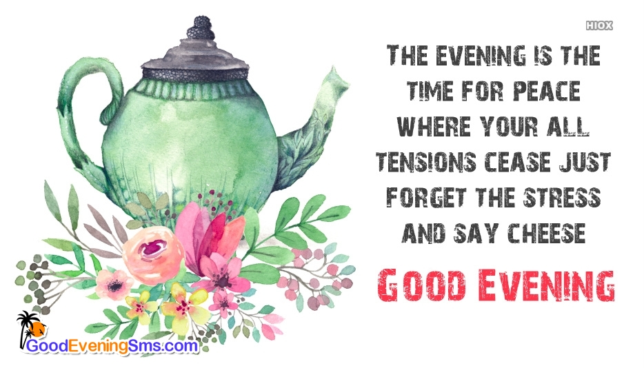 Good Evening SMS for Forget
