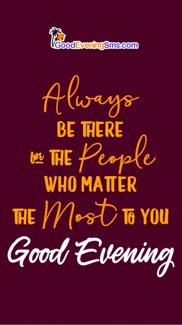 Good Evening Quotes And Image