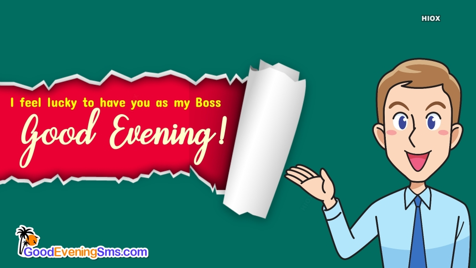 Good Evening SMS for Officials