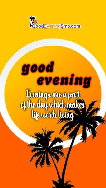 Good Evening Quotes Pic