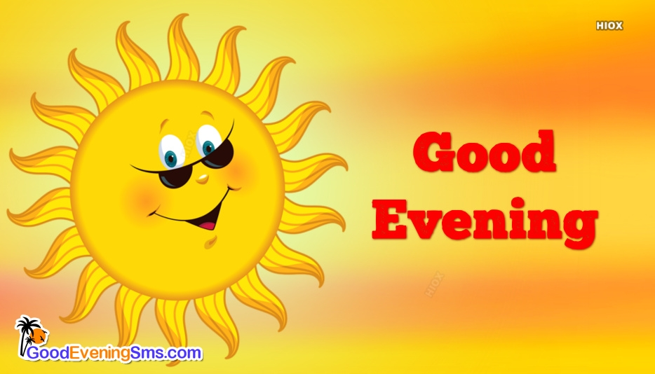 Good Evening Smiley Images, Pictures