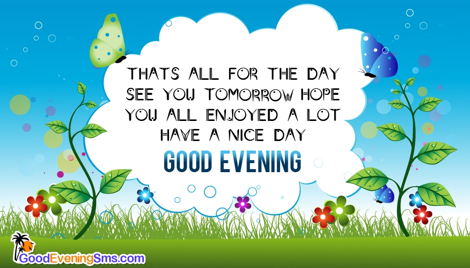Good Evening SMS @ Goodeveningsms.com