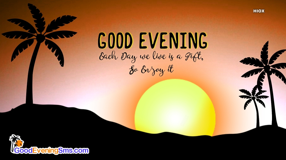 Good Evening Sms Image