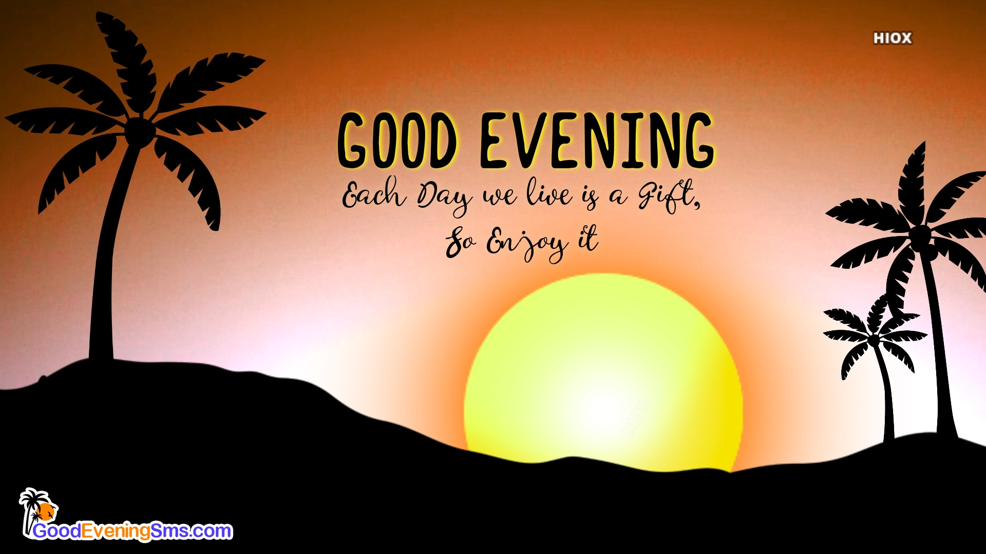 Good Evening Sms Image