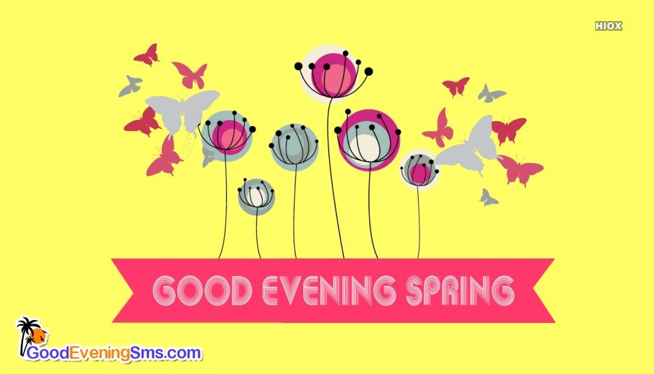 Good Evening Spring