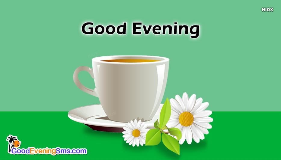 Good Evening Tea Cup