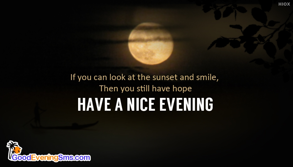 Good Evening Text Message - Good Evening SMS for Someone Special