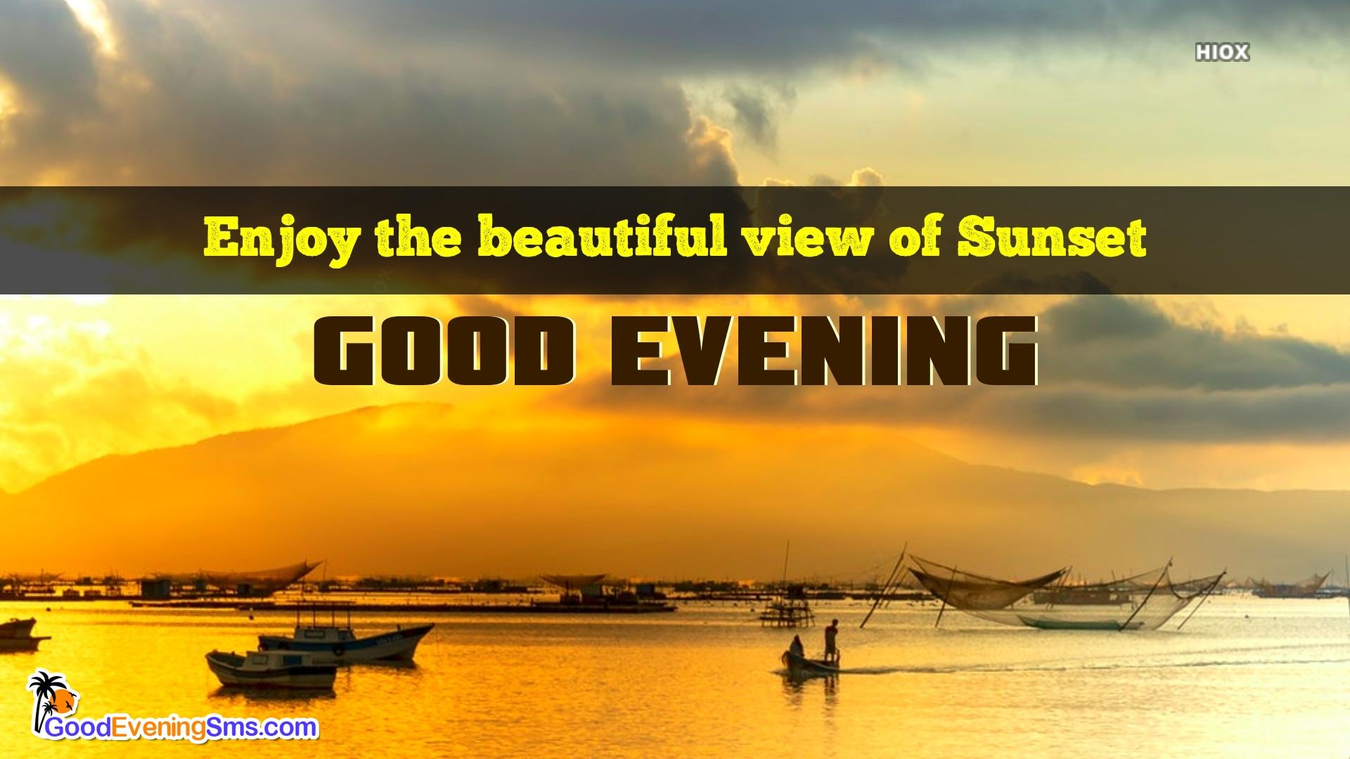 Good Evening View