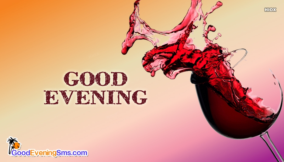 Good Evening Drinks Images