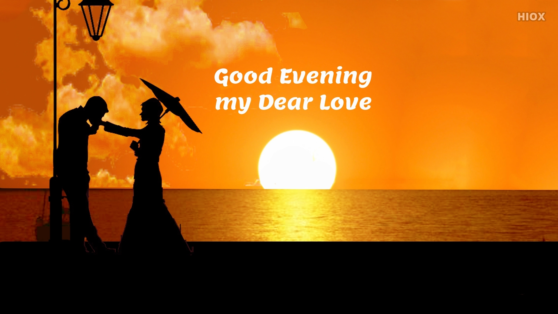 Good Evening Wishes For Love (Good Evening My Dear Love)