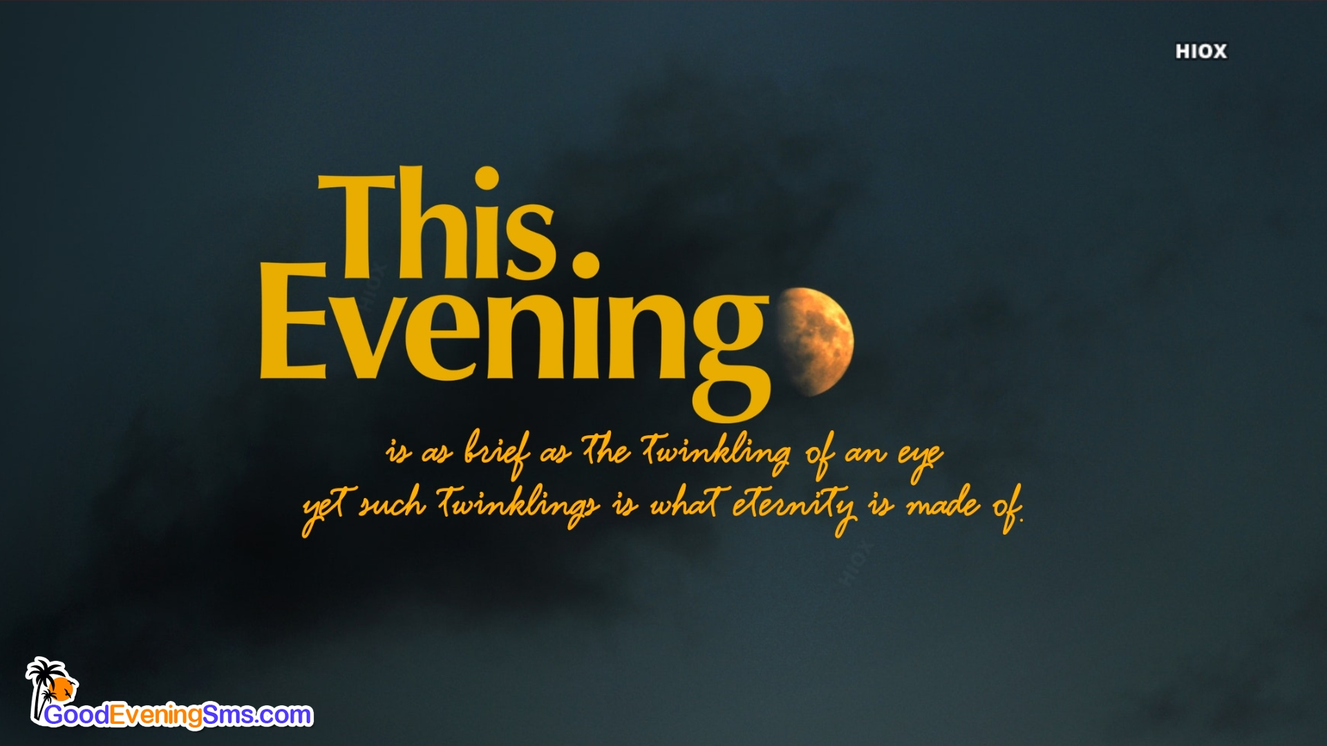 Good Evening Wishes Time