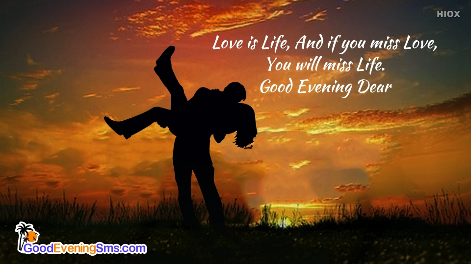 Good Evening SMS for Love Thoughts